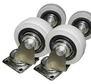 Art. 004 ruote in gomma e acciaio