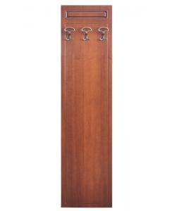 appendiabiti pannello in legno 3 ganci appendiabiti
