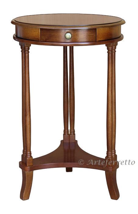 Tavolino Alto In Legno