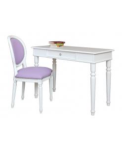 sedia, scrittoio con sedia, scrivania,