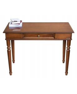 Scrittoio classico in legno con cassetto