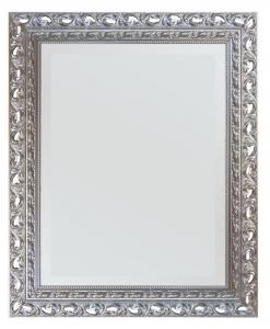 Specchiera foglia argento classica Arteferretto