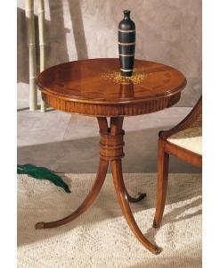 tavolino tondo da salotto
