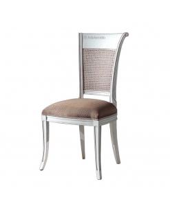 sedia con schienale, sedia, sedia in legno, paglia