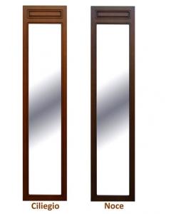 Specchiera classica in legno figura intera