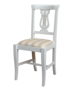 sedia, sedia imbottita, sedia in stile