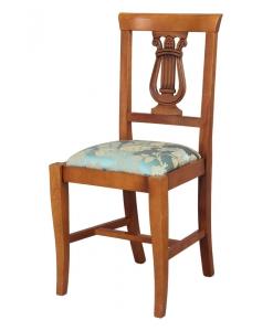 sedia Lira, sedia, sedia imbottita, sedia in stile