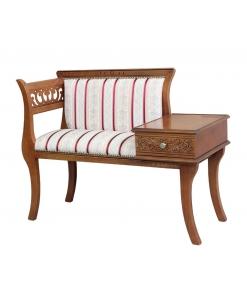 divanetto, divano, divanetto portatelefono