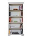 libreria a giorno laccata in stile Luigi Filippo