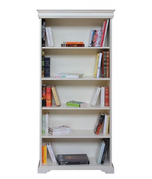 Libreria a giorno laccata stile Luigi Filippo, codice articolo: 198-AV