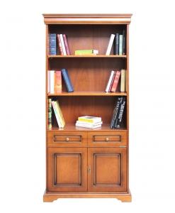 Libreria alta a colonna da ufficio, porta archivi