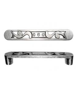 maniglia argento antico, maniglia, maniglia Swarovski
