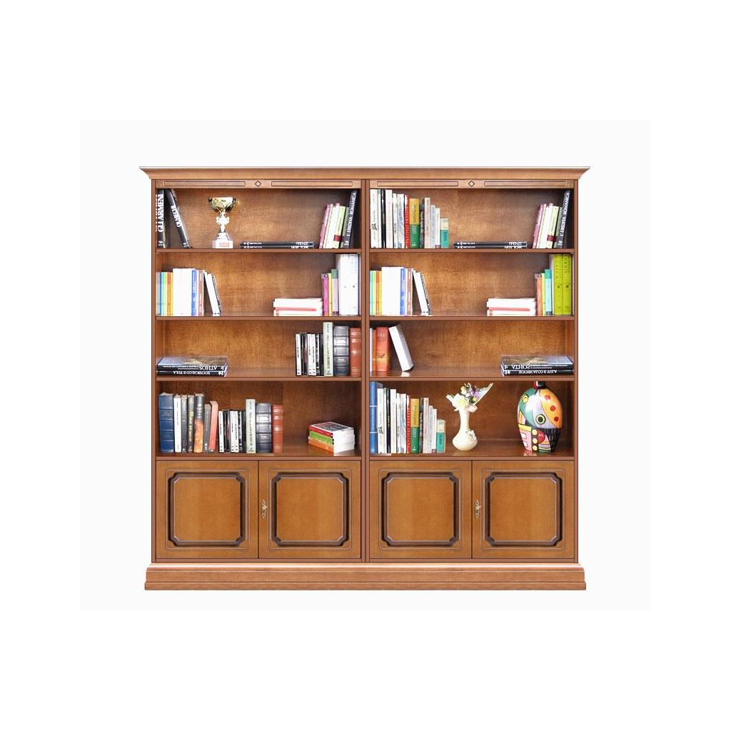Libreria 4 ante da soggiorno o ufficio