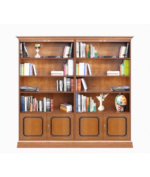 Libreria 4 ante da soggiorno o ufficio, Art. 202