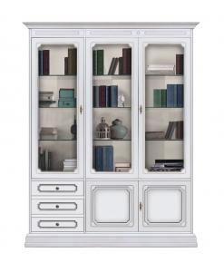 Vetrina in stile, vetrina, vetrina classica, arredo parete, arredo soggiorno