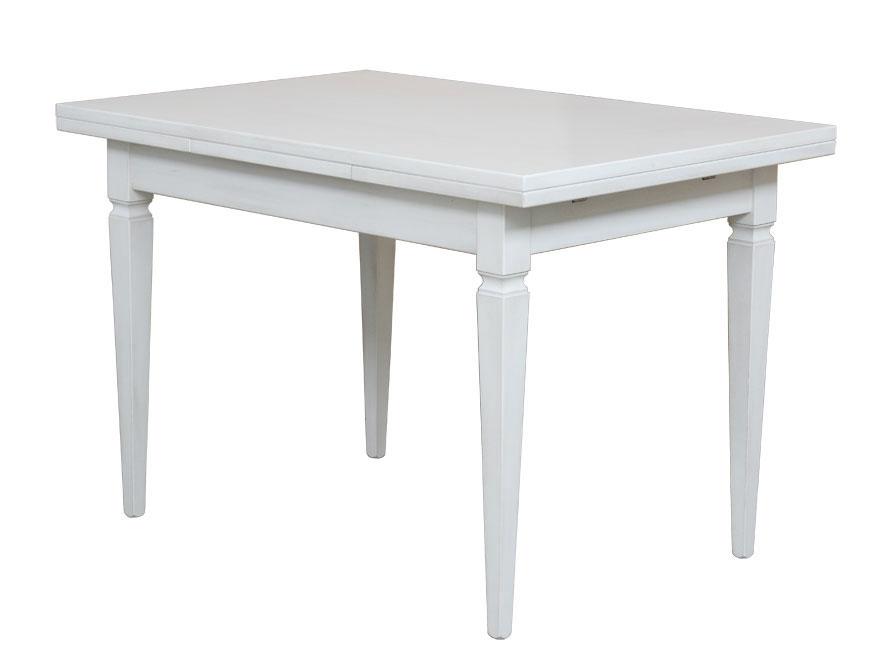 Tavolo bianco allungabile 120-200 cm - ArteFerretto