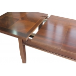 Dettaglio tavolo in apertura
