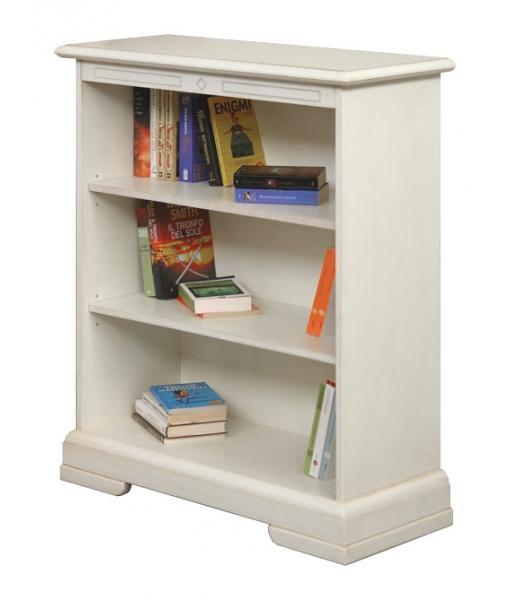 libreria bassa laccata ripiani regolabili , Art. 220-AV