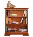 Libreria bassa ripiani regolabili in legno