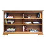 Libreria, libreria bassa, Libreria bassa in legno Arteferretto