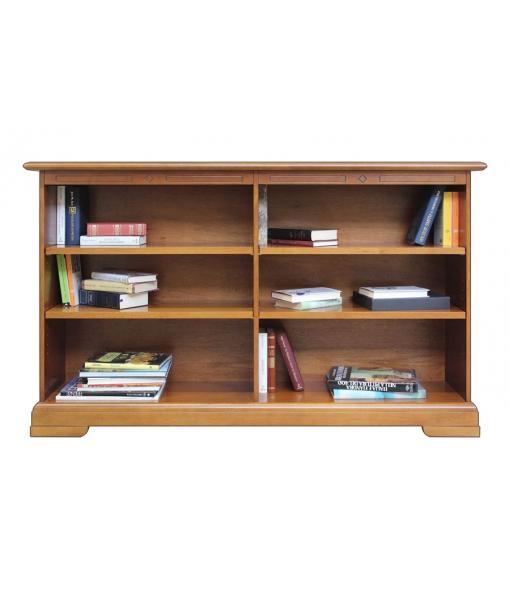 Libreria bassa con ripiani regolabili, codice articolo: 222