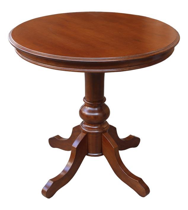 tavolino da salotto rotondo tavolino classico in legno ebay. Black Bedroom Furniture Sets. Home Design Ideas