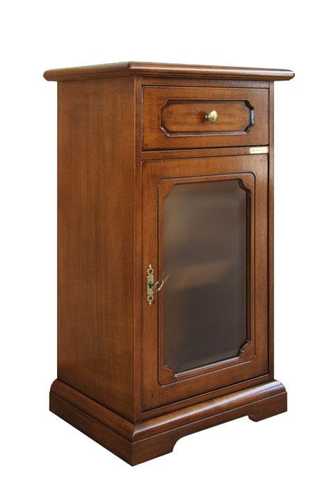 Mobiletto in legno per ingresso mobile porta telefono con - Mobiletto per telefono ikea ...