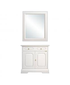credenza con specchio, credenzina ingresso