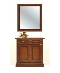 credenza con specchio, mobili ingresso