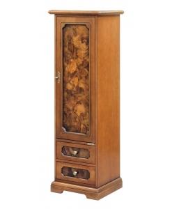 armadietto con radica,armadietto in legno,