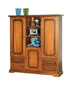armadio, armadietto, armadio in legno