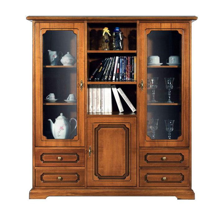Vetrina classica, Mobile vetrina, mobile in legno soggiorno classico, vetrinetta  eBay