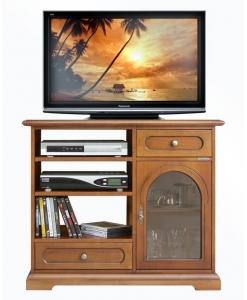 Porta tv anta vetrina stile classico