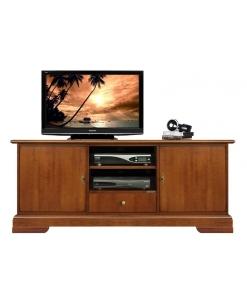 mobile tv, mobile porta tv basso, mobile in legno
