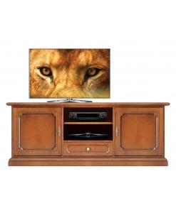 Mobile base porta tv stile classico per soggiorno o salotto