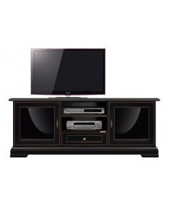 porta tv, mobile tv nero, mobile porta tv classico, mobile design nero