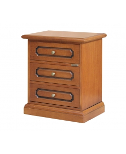 Comodino classico in legno