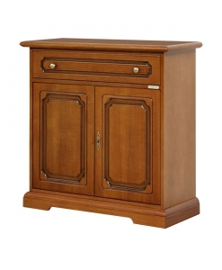 Credenzina pantografata in legno stile classico