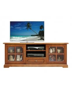 mobile porta tv classico, mobiletto tv, stile classico, salotto classico, mobile tv in legno,