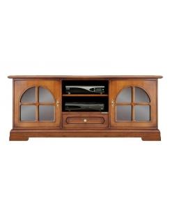 porta tv classico, porta tv, mobile tv in legno, arredo soggiorno, mobile soggiorno