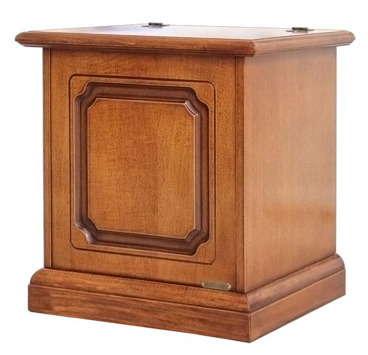 cassapanca piccola a ribalta 50 cm arteferretto. Black Bedroom Furniture Sets. Home Design Ideas
