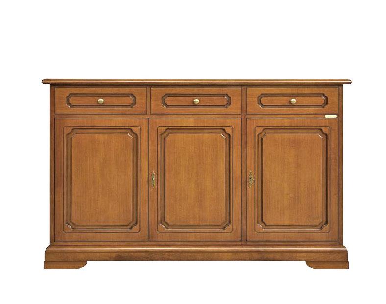 Mobile credenza per soggiorno credenza in legno classica 3 porte 3