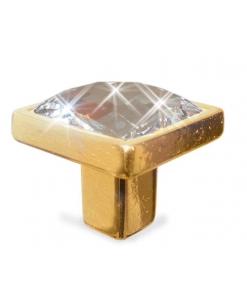 pomolo swarovski oro, pomolo oro, maniglieria oro, accessorio mobili
