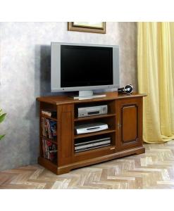Porta tv porta cd/dvd in legno e stile classico