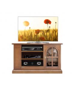 Mobile porta tv classico con vetrinetta