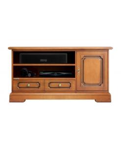 mobile porta tv funzionale, porta tv, mobile tv in legno, mobile per soggiorno