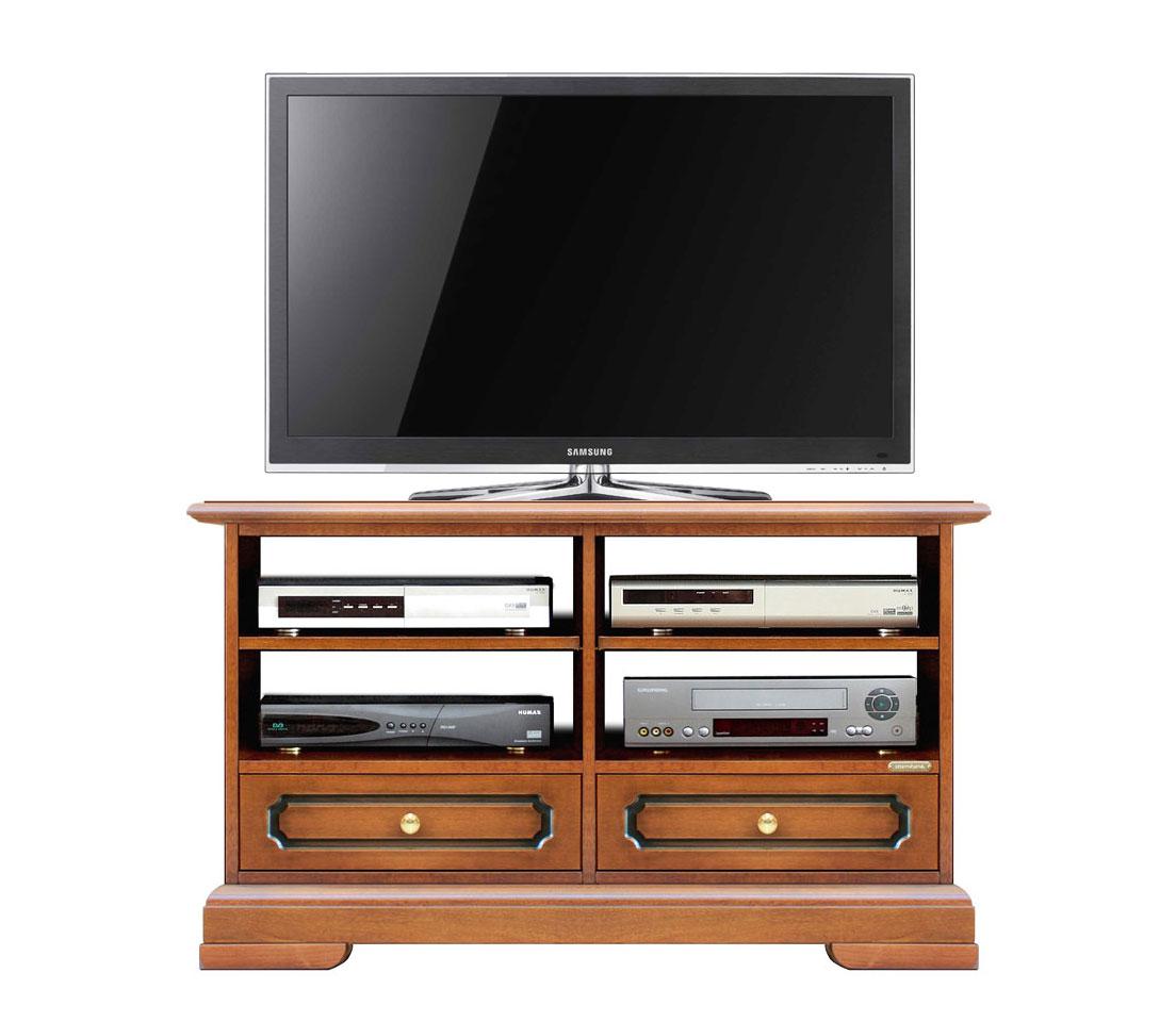 Mobile Tv 2 cassetti e ampi vani - ArteFerretto