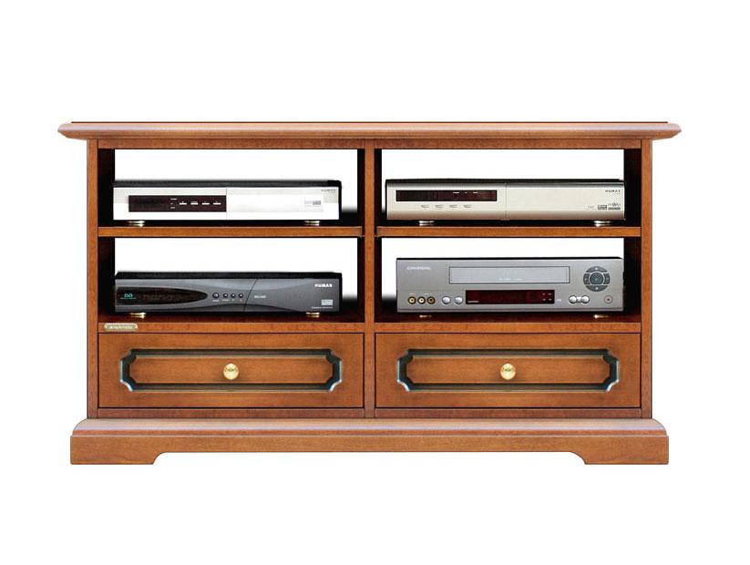 Porta tv in legno mobile tv cassetti e ampi vani per decoder mobiletto tv ebay - Mobiletto porta tv ...