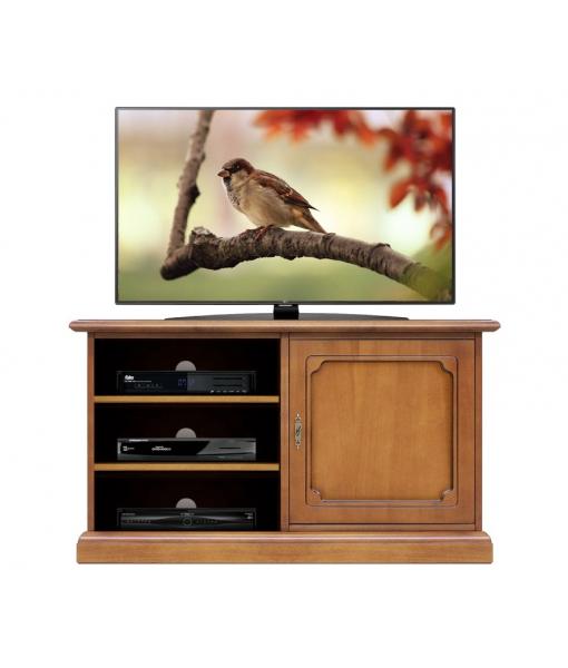 Mobile porta TV da salotto con anta a chiave, Art. 3814-L