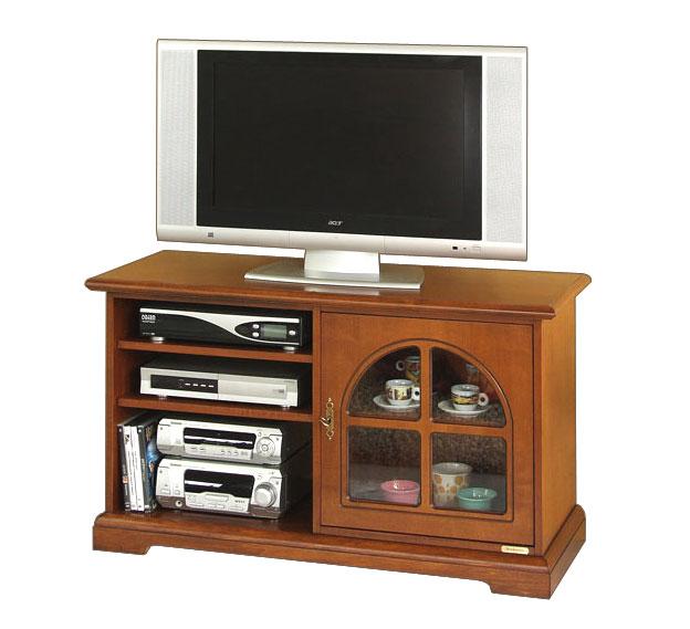 Mobile porta tv, mobile tv per soggiorno, cucina, mobiletto in legno con vetrina  eBay